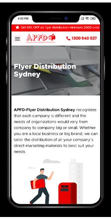 APFD (Australian Printing & Flyer Distribution)